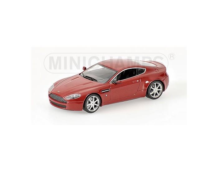 ASTON MARTIN V8 VANTAGE - 2005 - RED METALLIC - RARE