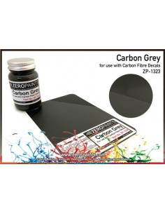 Carbon Grey (Carbon Fibre Grey) - 60 ml (Pre-thinned)
