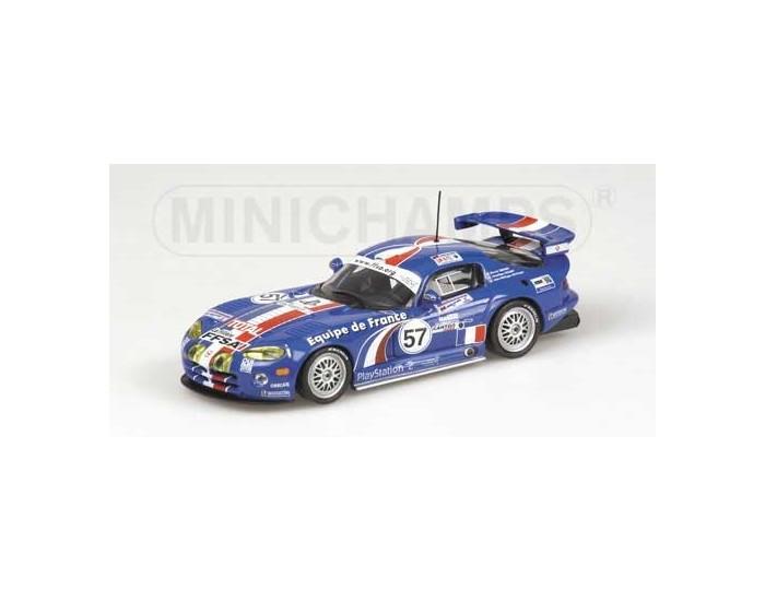 CHRYSLER VIPER GTS-R - TERRIEN/COCHET/DAYRAUT - TEAM EQUIPE DE FRANCE FFSA - 24H LE MANS 2001