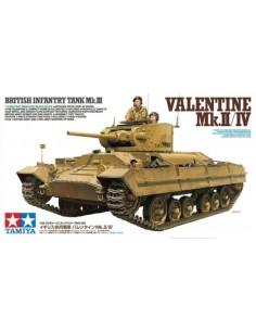 British Infantry Tank Mk.III Valentine Mk.II/ IV