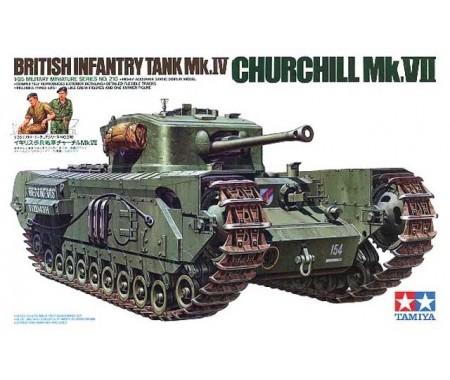 Tamiya - 35210 - British Infantry Tank Mk.IV Churchill Mk.VII  - Hobby Sector
