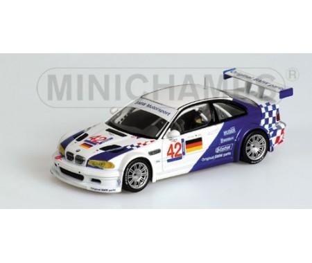 BMW M3 GTR - LEHTO/MÜLLER - JARAMA ELMS 2001