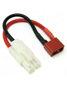 Cable Connector Male Tamiya to Female Deans Adaptor