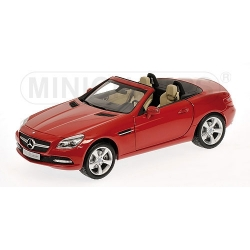 MERCEDES-BENZ SLK-CLASS-2011-RED