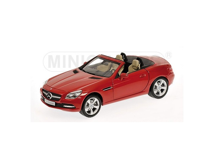 MERCEDES-BENZ SLK - CLASS - 2011 - RED