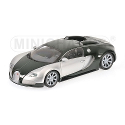 BUGATTI VEYRON EDITION CENTENAIRE-2009-CHROME/GREEN