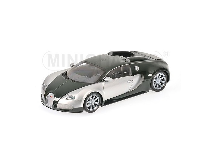 BUGATTI VEYRON EDITION CENTENAIRE - 2009 - CHROME/GREEN