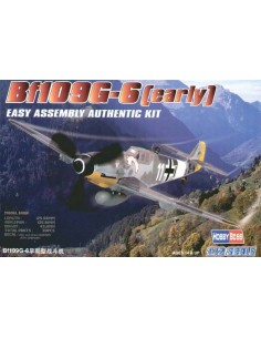 Bf109 G-6 (early) - Easy Assembly Kit