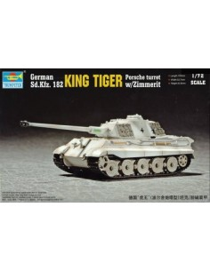 King Tiger Porsche Turret w/ Zimmerit