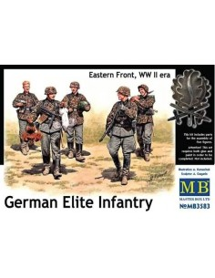 German Elite Infantry Eastern Front WWII