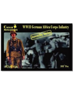 WWII German Africa Corps Infantry Assembly Series