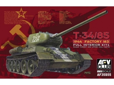 T-34/85 1944 Factory 183