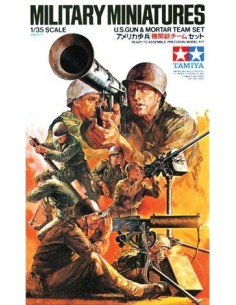 U.S.Gun & Mortar Team Set