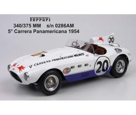 Ferrari 375 MM s/n 0286AM 5° Carrera Panamericana 1954