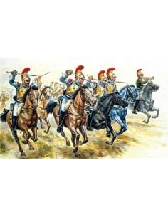 French Heavy Cavalry WATERLOO 200 years