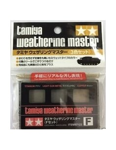 Tamiya - 87123 - Weathering Master Set F  - Hobby Sector