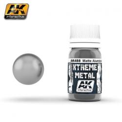 XTREME METAL MATTE ALUMINIUM 30ML