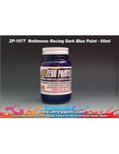Rothmans Racing Dark Blue Porsche/Honda 60ml (Pre-thinned)