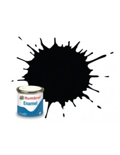 201 Metallic Black - 14 ml Enamel Paint