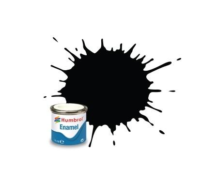 201 Metallic Black - 14 ml Enamel Paint
