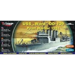 "USS ""Ward"" DD-139 Pearl Harbor 1941"