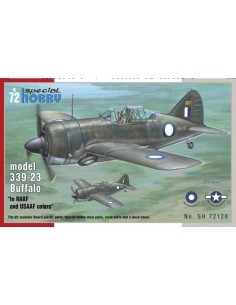 Special Hobby - SH72128 - Buffalo model 339-23 In RAAF and USAAF colors  - Hobby Sector