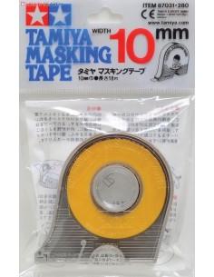 Tamiya - 87031 - Máscara em Fita 10 mm Largura Com Aplicador  - Hobby Sector
