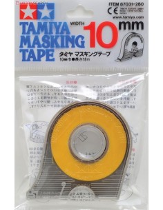 Tamiya - 87031 - Masking Tape 10 mm Width With Applicator  - Hobby Sector