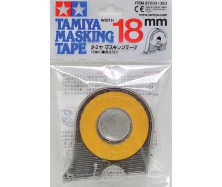 Tamiya - 87032 - Masking Tape 18 mm Width With Applicator  - Hobby Sector