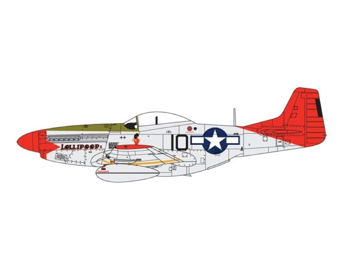 Airfix - A01004 - Airfix - North American P-51D Mustang  - Hobby Sector
