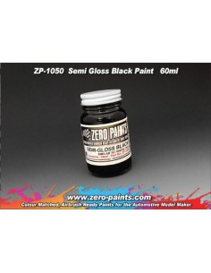 Semi Gloss Black Paint 60ml (Pre-thinned)