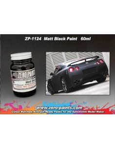 Matt Black Paint (Flat Black) 60ml (Pre-thinned)