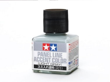 Tamiya Panel Line Accent Color - Light Gray
