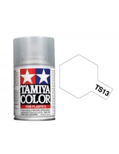 Tamiya - TS-13 - Clear (Gloss Varnish)100ml Acrylic Spray  - Hobby Sector