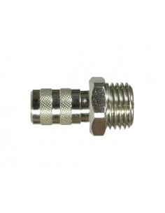 "Quick Coupling nd 2.7 mm with G 1/4"" male thread"