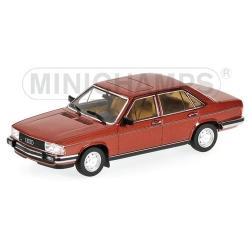 AUDI 100 - 1979 - RED METALLIC