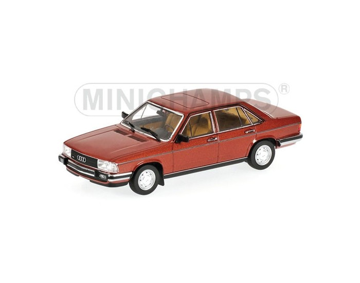 AUDI 100 - 1979 - RED METALLIC