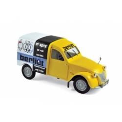 Citroën 2CV Fourgonnette 1956 Assistance Berliet