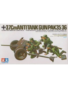 Tamiya - 35035 - 3,7cm Anti-Tank Gun (PaK35/36)  - Hobby Sector