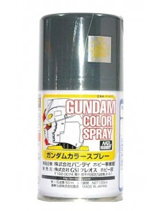 Gundam Color Spray Zeon's MS Gray 100 ml