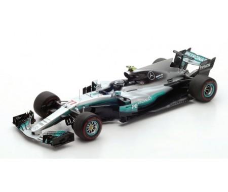 Mercedes F1 W08 Valtteri Bottas n.77 Winner Russian GP 2017