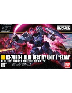 "HG RX-79BD-1 Blue Destiny Unit 1 ""Exam"""