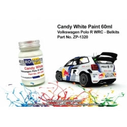 Volkswagen Polo R WRC Belkits Candy White Paint 60ml (Pre-thinned)
