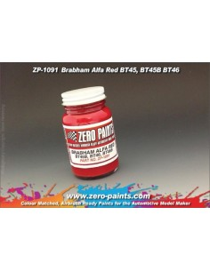 Brabham Alfa Red Paint - BT45B, BT46, BT46B, BT48 etc 60ml (Pre-thinned)