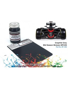 Mclaren MP4/30 (Ebbro) Graphite Grey Paint Mid Season 60ml (Pre-thinned)