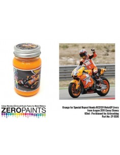 Repsol Honda RC212V MotoGP 2011 Casey Stoner Orange Special Paint 60ml (Pre-thinned)