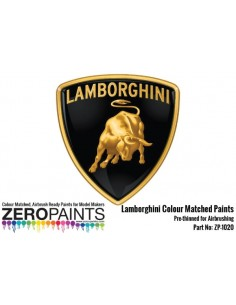 Lamborghini Paints Arancio Argos Mica 0117 (2 Parts) 2x30ml Aventador 2011 (Pre-thinned)