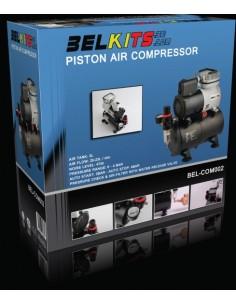 Belkits - BEL-COM002 - Piston Air Compressor with Tank  - Hobby Sector