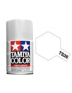 Tamiya - TS-26 - Pure White 100ml Acrylic Spray  - Hobby Sector