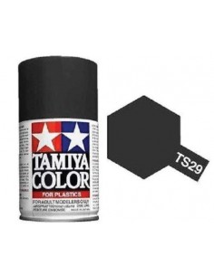 Tamiya - TS-29 - Semi Gloss Black 100ml Acrylic Spray  - Hobby Sector